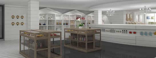 Retail and design of commercial spaces